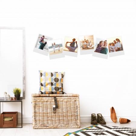 Vinyl Wall Art - Add Your Photos - Polaroids