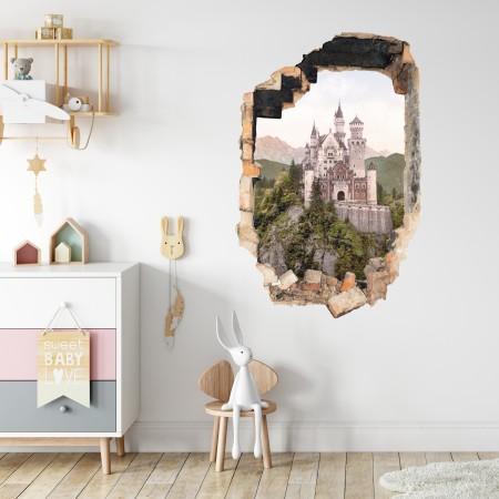 Vinyl Wall Art - Add Your Photo - Hole in Wall Portrait