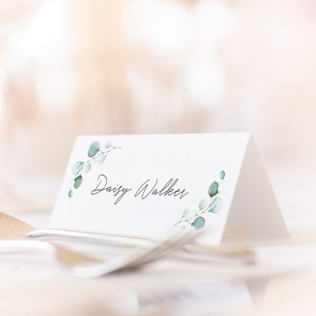 Folded Place Cards Pack of 15