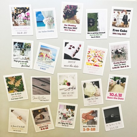 Save the Date Magnets - Sheet of 21