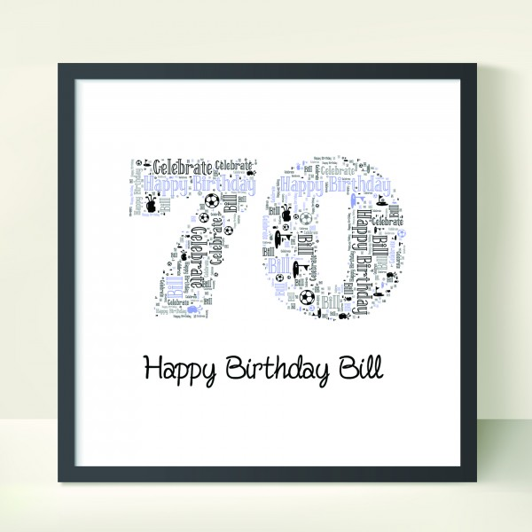 Number Birthday Posters