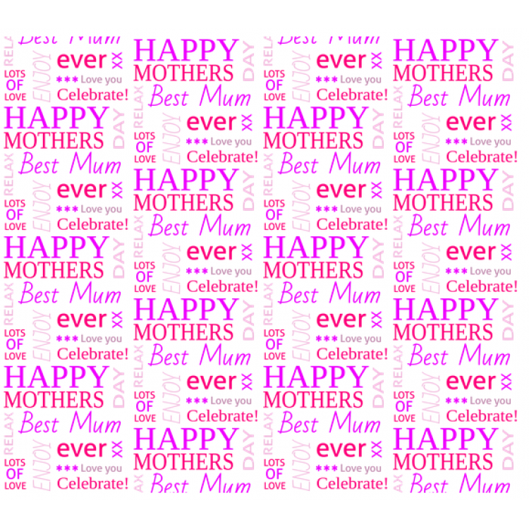 Personalised Wrapping Paper Mothers Day