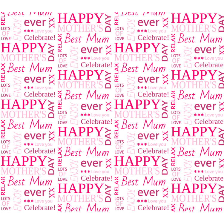 Personalised Wrapping Paper Mother's Day